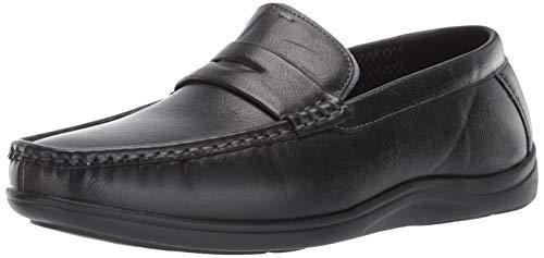 - Nunn Bush Men's Brentwood Penny Loafer Slip-On, Black, 12