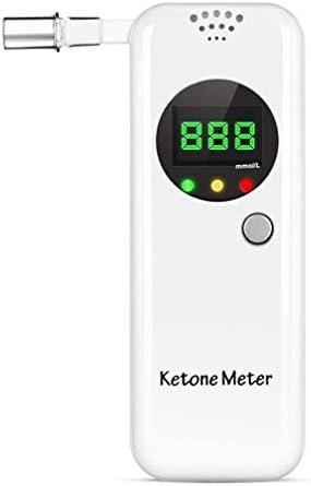 Ketone Breath Meter, Professional Portable Ketone Breath Tester, Digital Ketone Breathalyzer with 10 Mouthpieces (Color2) 1