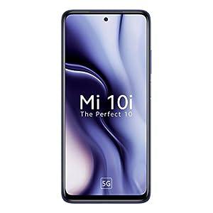 Mi 10i 5G (Atlantic Blue, 6GB RAM, 128GB Storage) – 108MP Quad Camera | Snapdragon 750G Processor
