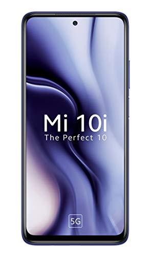 Mi 10i 5G (Atlantic Blue, 6GB RAM, 128GB Storage) – 108MP Quad Camera | Snapdragon 750G Processor | Upto 2000 Additional Exchange