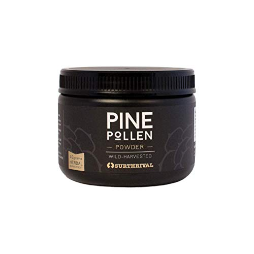 Pine Pollen Powder 48g by Surthrival (Image #1)
