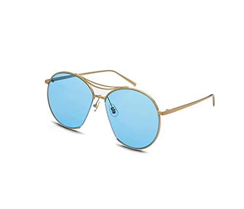 HongTeng Sunglasses for Men and Women Night Vision Goggles Driving Glasses Retro Trend Street Shooting Travel Essentials a Variety of Colors Optional (Color : Light Blue)
