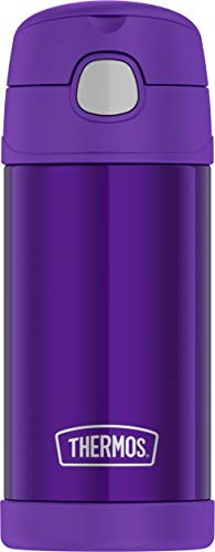 Thermos F4016VI6 12 Ounce Stainless Steel FUNtainer Bottle