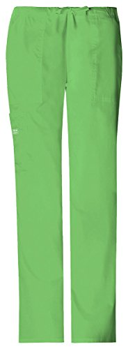 - WorkWear 4044 Women's Mid-Rise Drawstring Cargo Pant Honeydew Large
