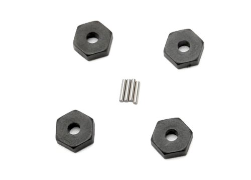 Traxxas 7154 Wheel Hubs with Axle Pins, 1/16 Vehicles (set of (Traxxas Axle Pins)