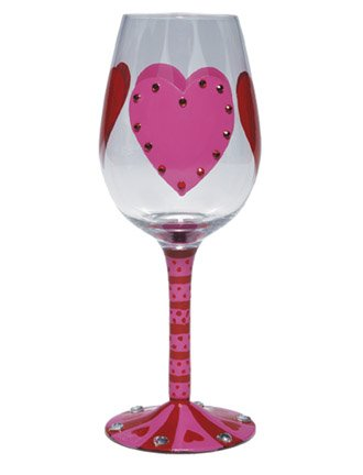 Big Hearted Lover Wine Glass by Lolita Review