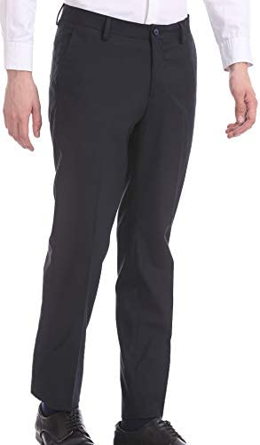 US Polo Association Men's Straight Fit Regular Formal Trousers