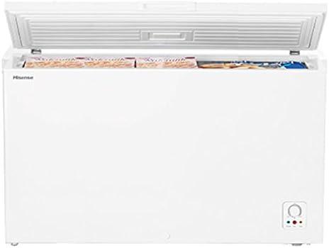 HISENSE Congelador Horizontal FC403D4AW1 Clase A Capacidad Bruta y ...