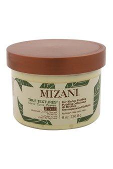 Mizani True Textures Curl Define Pudding Cream for Unisex, 8 Ounce