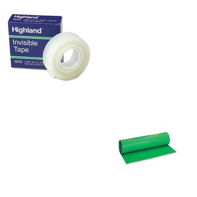 KITMMM6200341296PAC101202 - Value Kit - Pacon Decorol Flame Retardant Art Rolls (PAC101202) and Highland Invisible Permanent Mending Tape (MMM6200341296) by Pacon