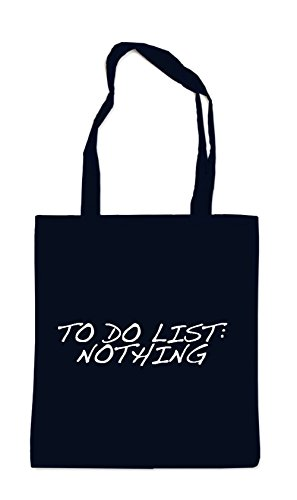 To Do List: Nothing Bolsa Negro