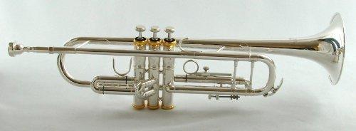 Schiller American Heritage 78 Trumpet - Silver & Gold by Schiller