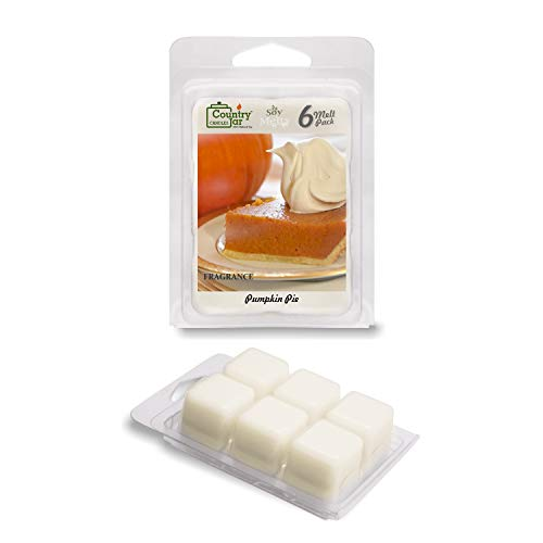 Country Jar Pumpkin Pie Soy Wax Melt Tarts (6-Cubes) / 20% of 3 or More Sale!