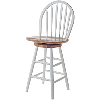 Amazon Com Winsome Wood 53624 Wagner Stool 24 Quot White
