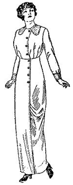 1912 Costumes The Titanic (1912-13 Ladies Costume Pattern)