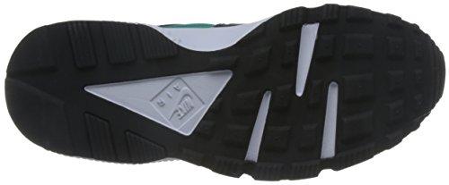 Nike Damesschoenen Huarache Lopen Midden Hardloopschoen Schoon Jade / Zwart