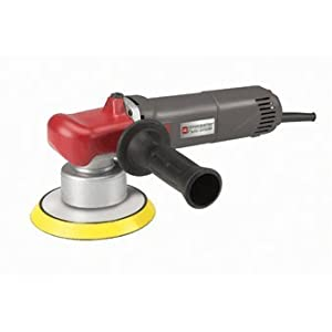 """6 Inch Variable Speed Dual Action Random Orbit Polisher with 6"""" Backing Pad, Side Handle, Spindle Wrench, Carbon Brushes"""