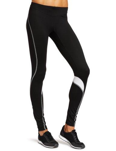 Gore Running Wear Women's Sunlight 2.0 Lady Tights, Black/White, Medium