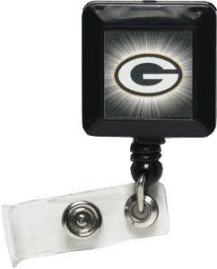 NFL Green Bay Packers 14142021 Retractable Badge (Green Bay Packers Jewelry)