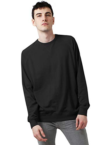 Ma Croix Mens French Terry Crewneck Sweatshirt (XX-Large, 1hc18_Black)