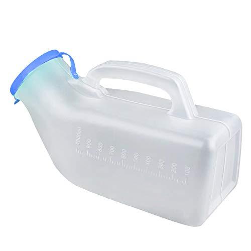 Guapie 1000ml/34oz Male Portable Urinal Pee Bottles Home Urinal Potty for Men