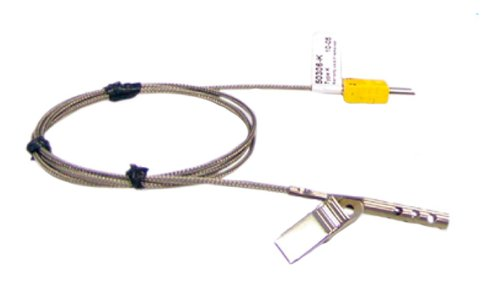 Cooper-Atkins 50306-K Type K Air Oven/Freezer Thermocouple Probe with Clip, -100 to +600 degrees F Temperature Range Cooper-Atkins Corporation