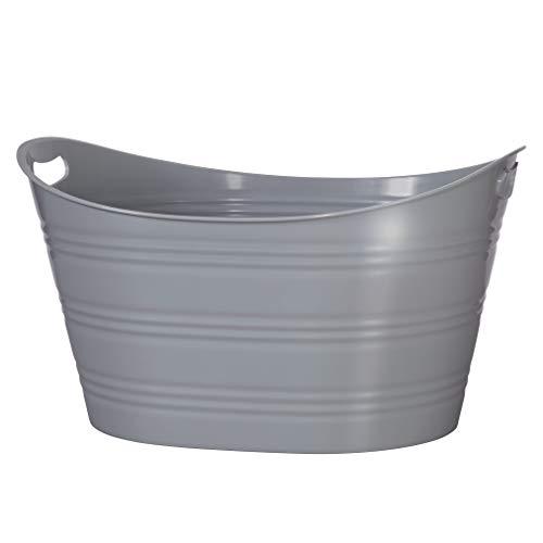 CreativeWare Grey Party Tub
