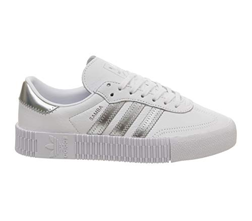 Adidas argent Adidas Adidas argent Adidas argent Sambarose Sambarose Sambarose Blanc noir noir Blanc Blanc noir fCtwwHAEq