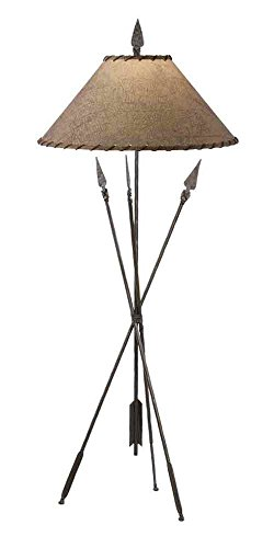 Stone County Ironworks Quapaw Floor Lamp, Hand Rubbed Pewter 205664-OG-142902-O-760289
