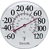 Taylor Analog Thermometer, -60 to 120 Degree F - 68162