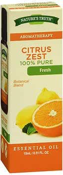 Nature's Truth Citrus Zest Essential Oil, 0.5 Ounce