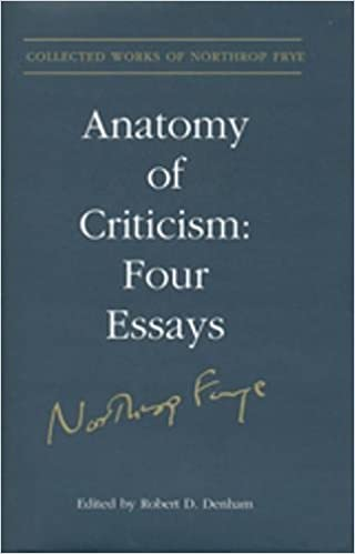Amazon Anatomy Of Criticism Four Essays Collected Works Of