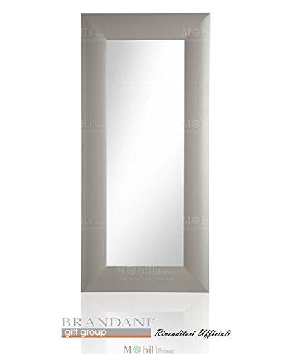 Specchi A Parete Moderni.Specchi Da Parete Moderni Legno Tortora Brandani Amazon It Casa E