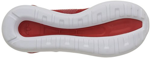 Red Shoes Originals Runner Sports adidas Running Tubular Weave Trainers Mens Red O81qv