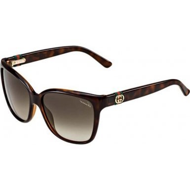 Gucci Sunglasses - 3645  Frame Havana Lens Brown Gradient