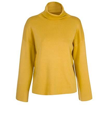 Jersey Lanidor Amarillo Cuello De Alto Con Oscuro Punto R6rdwZ6