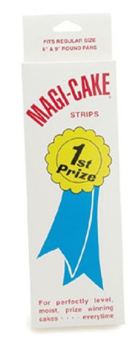 Magi-Cake Set of 4 Cake Pan Strips, Large by CK Products