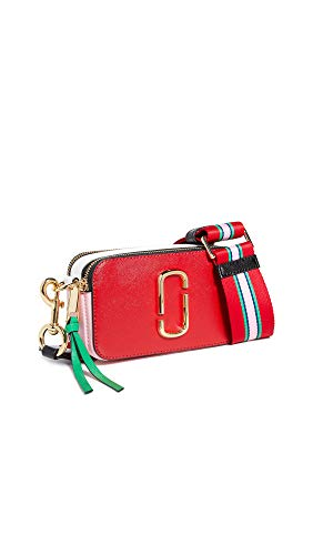 Marc Jacobs Women's Snapshot Camera Bag, Fire Red Multi, One Size