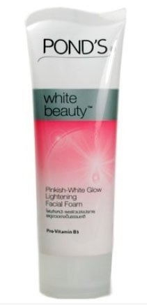 Pond's White Beauty Facial Foam Face Wash Lightening Acne Scrub Cleanser 50g
