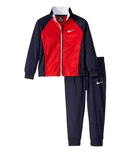 NIKE Little Boys 2-Pc. Color Block Jacket & Pants (7, Navy) (3 Piece Pant Suit)