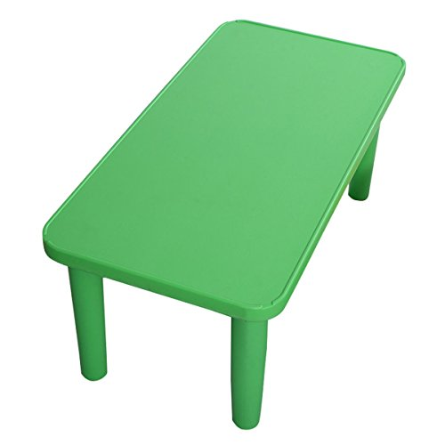 Portable Play Table : Costzon kids portable plastic table learn and play