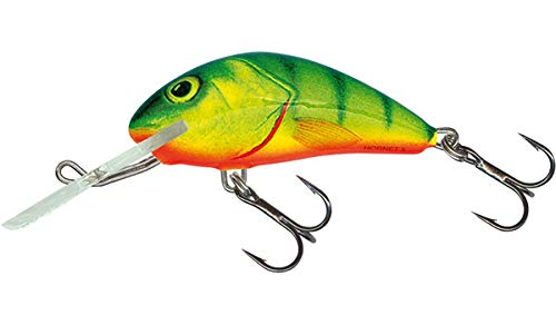 (Salmo Hornet 6 Floating, Hot Perch)