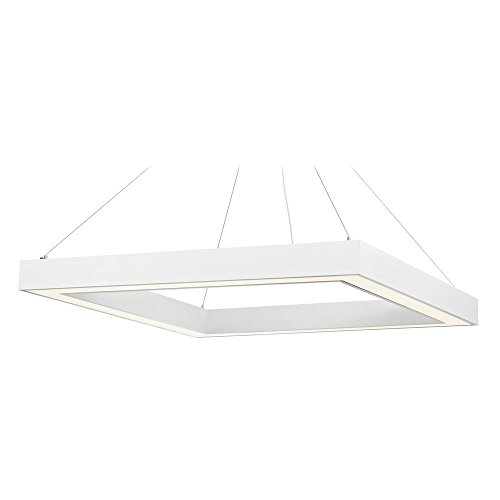Recesso Lighting By Dolan Designs Matte White LED Pendant (Dolan Designs Matte)