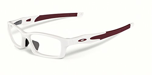 New Oakley Prescription Eyeglasses - Crosslink A OX8029 04 - Pearl/Tim Cardinal - For Women Glasses Oakley Prescription