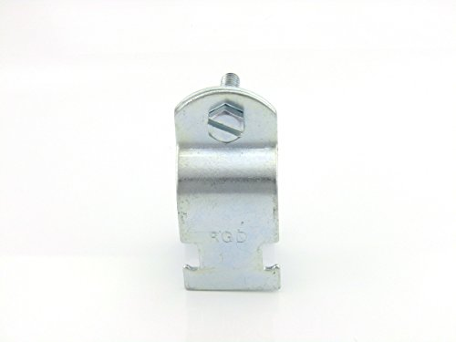 1in STD Pipe & Rigid Conduit Clamp; Zinc (100 per box) ()