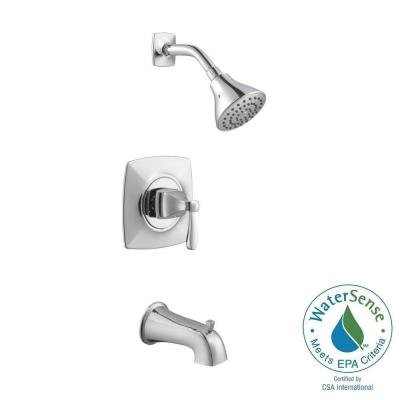 Milner Pressure Balanced Single-Handle 1-Spray Tub and Shower Faucet in Chrome (Pegasus Roman Tub Faucet Parts compare prices)