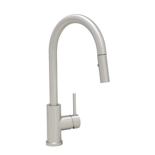 Mirabelle MIRXCRA101 Ravenel Pullout Spray Kitchen Faucet, Stainless Steel