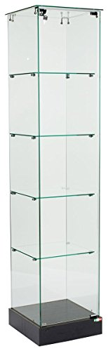 Square Tower Display Case - 9