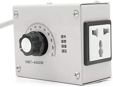 SUCAN Controlador De Voltaje Variable 4000W AC 220V para Motor De Velocidad De Ventilador Regulador De Temperatura