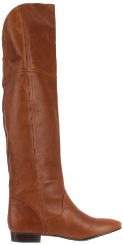 Women's Bay Chinese High Knee Leather Laundry Cognac Boot South g11nR5O